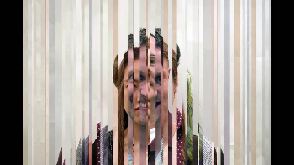 Exploded Ensemble Faces