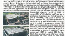 """""""Industrie CBI eccellenza nella ventilazione industriale"""""""