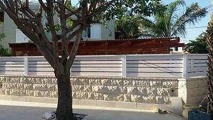 מחסן עצים לגדר חיפה