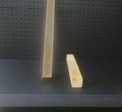 קורות עץ אורן 5 על 5