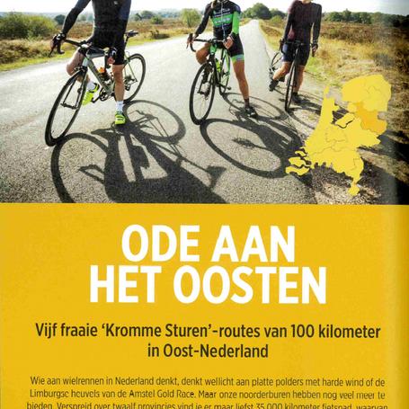 Voor het tijdschrift Cycling.be schreef ik een artikel over wielrennen in de provincie Overijssel.