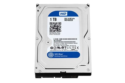 WD 1 TB Hard Disk 7200 RPM