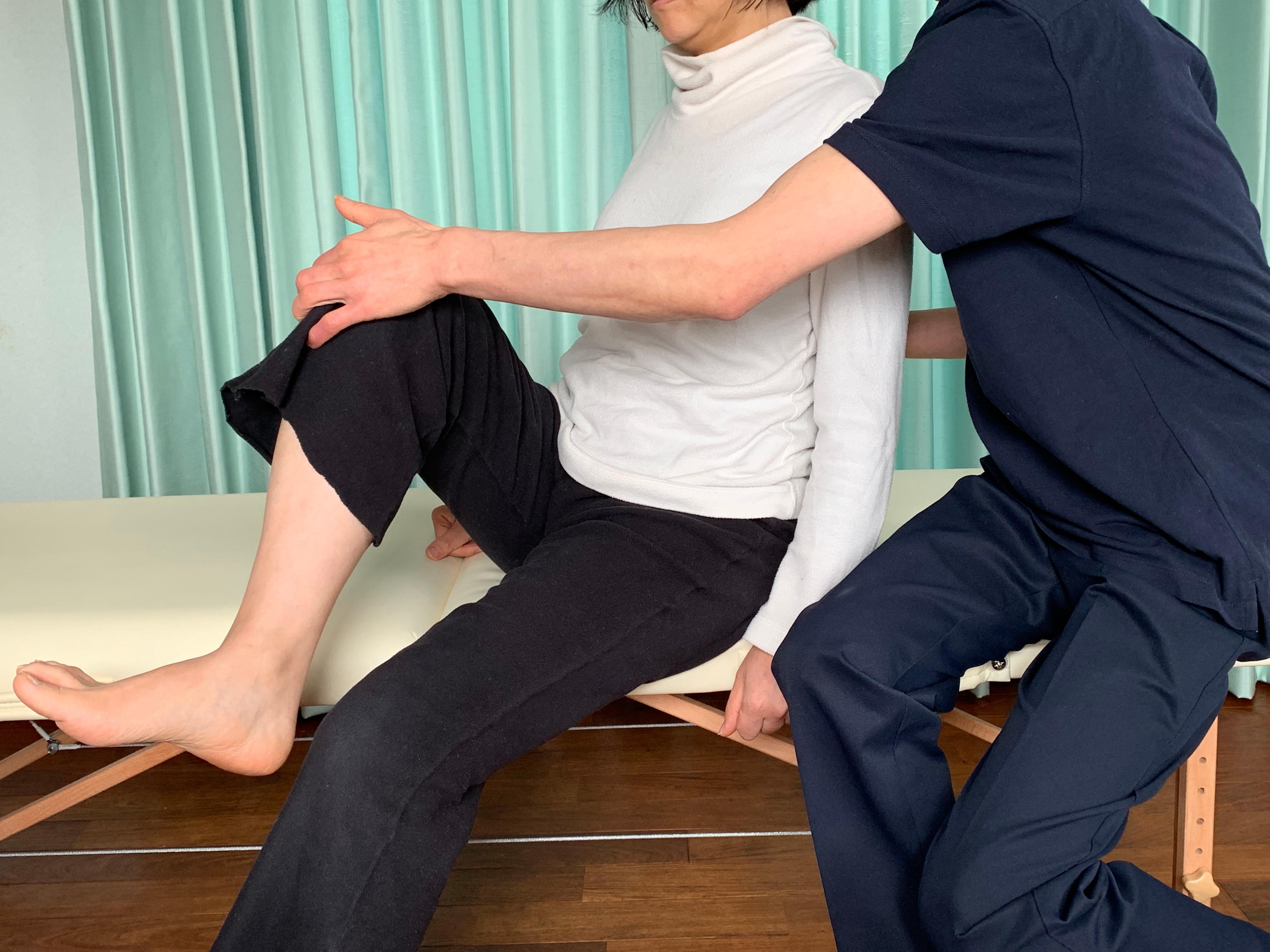 痛みに対する姿勢改善