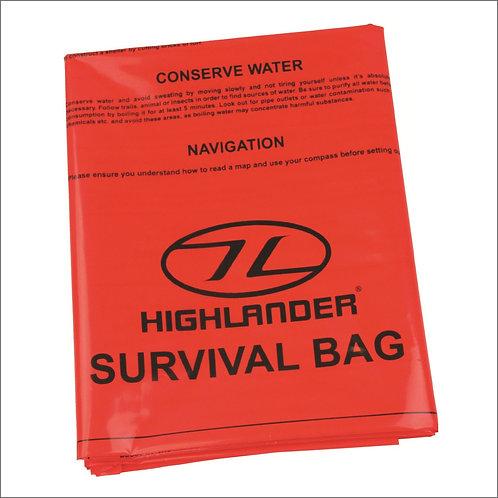 Highlander Emergency Survival Bag - Orange