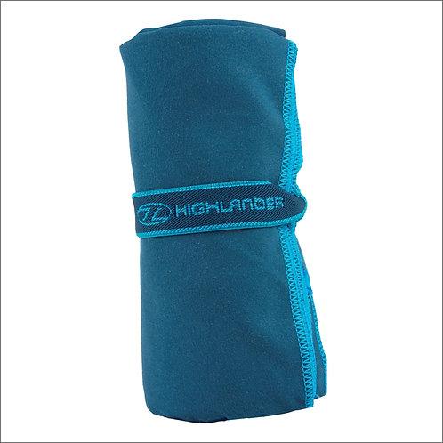 Highlander Soft Fibre Travel Towel - Blue
