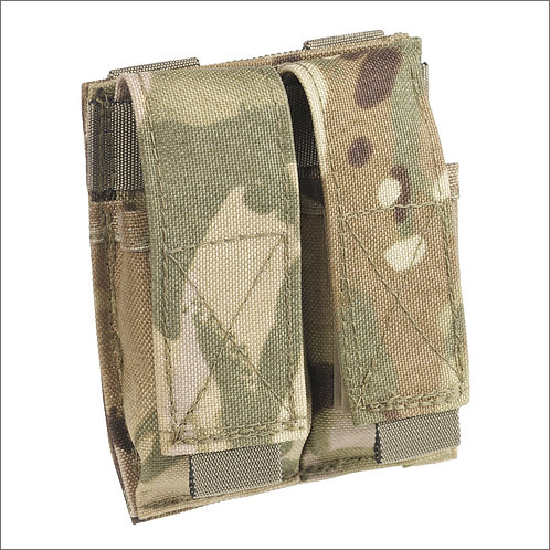 Marauder Pistol Mag 9mm Molle Twin Ammo Pouch - MTP