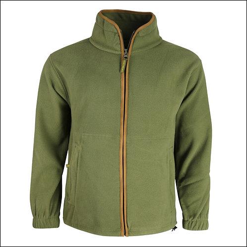 Huntsbury Country Fleece Jacket - Olive Green
