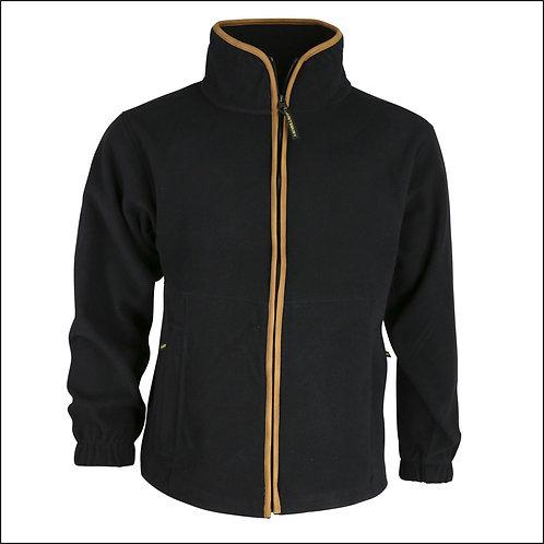 Huntsbury Country Fleece Jacket - Black