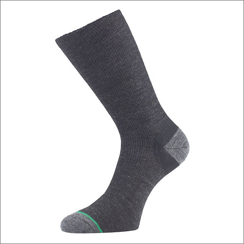 1000 Mile Ultimate Lightweight Walking Sock - Charcoal