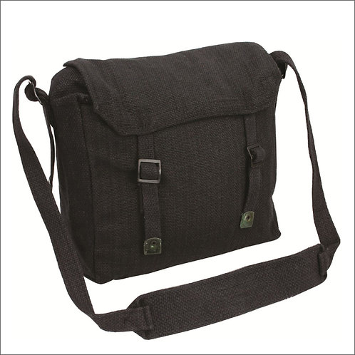 Highlander Webbing Haversack - Black
