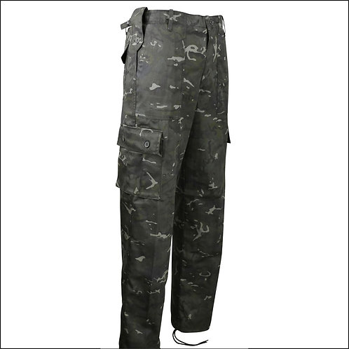 Kombat Trousers - BTP Black (British Terrain Pattern)