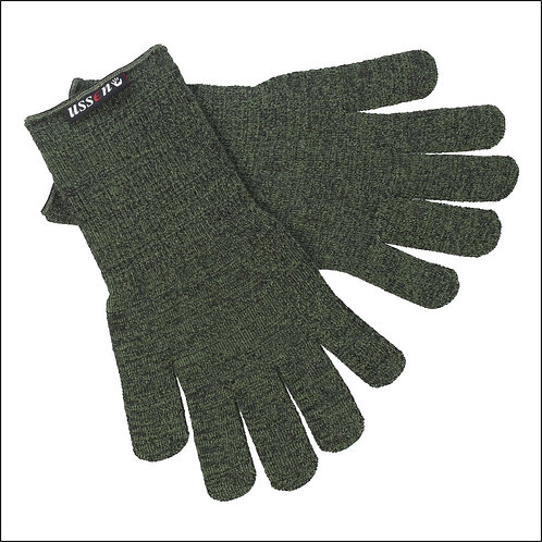 Ussen Thermal Flight Gloves - Olive Green