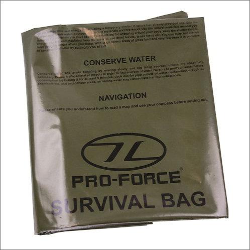 Highlander Emergency Survival Bag - Olive
