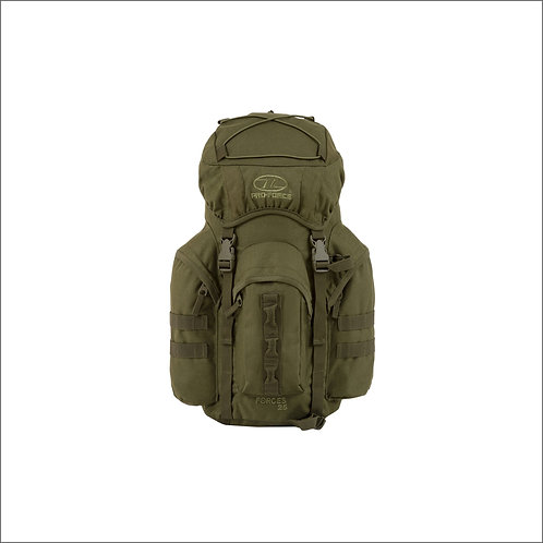 Highlander New Forces 25 Litres Rucksack - Olive Green