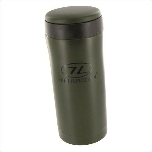 Highlander Sealed Thermal Mug - Olive Green