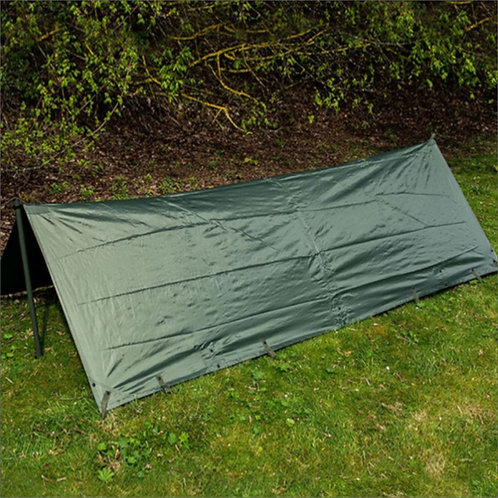 Highlander Basha/Tarp - Sleeping Shelter - Olive Green