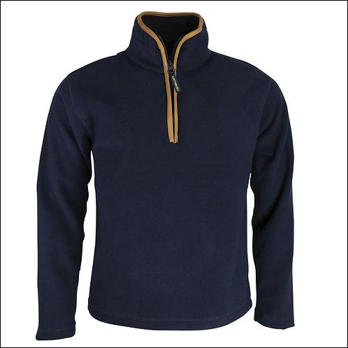 Huntsbury Country Fleece Pullover - Navy Blue