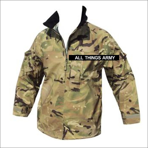 British Army Lightweight Waterproof MVP Jacket - MTP - Grade 1