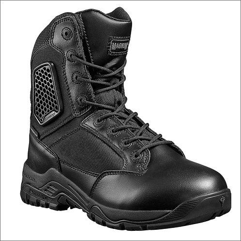 Magnum Strike Force 8.0 Waterproof Sidezip Men's Uniform Boot - Black