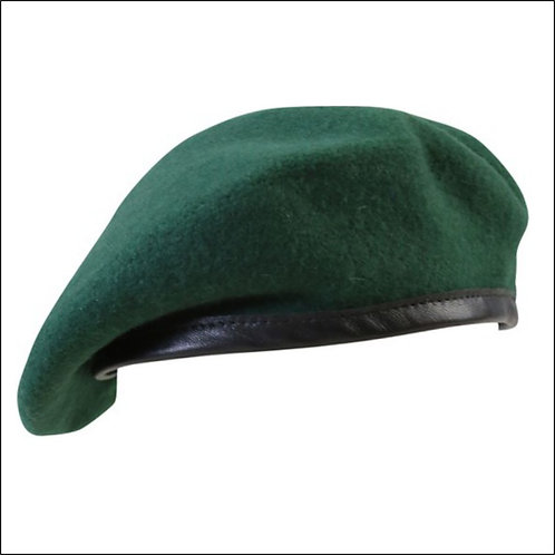 British Army-Style Beret - Marine Green