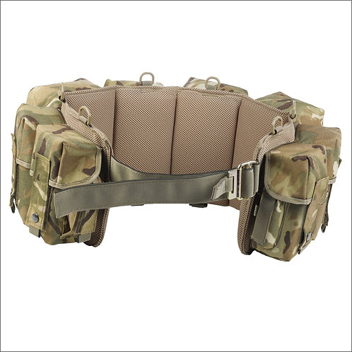 Marauder Special Forces Airborne Webbing - 4 Pockets - MTP