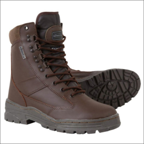 Kombat Patrol Boot - Full Leather - MOD Brown