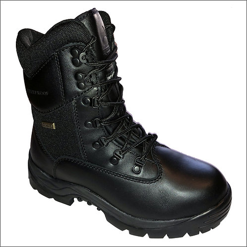 Highlander Sympatex Army Cadet Boot -Waterproof Full Leather -Breathable -Black
