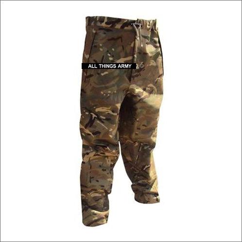 British Army Waterproof GTX Zip-Ankle Trousers - MTP - Grade 1