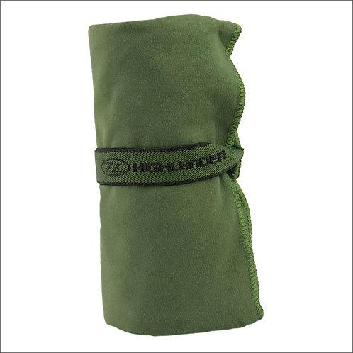 Highlander Soft Fibre Travel Towel - Olive Green