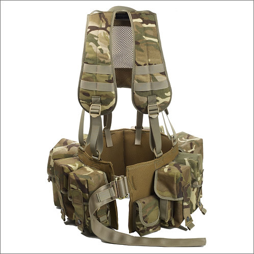 Marauder Special Forces Airborne Webbing with Yoke - MTP