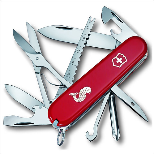 Victorinox Fisherman Swiss Army Knife - Red