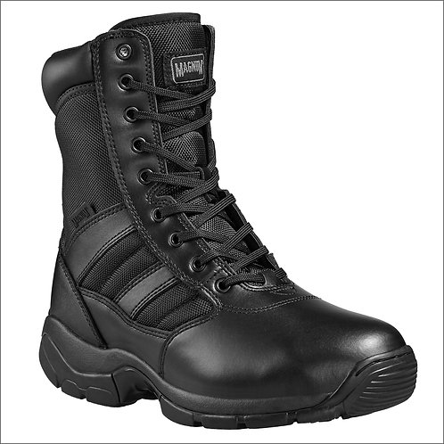 Magnum Panther 8.0 Sidezip Men's & Women's Uniform Boot - Black