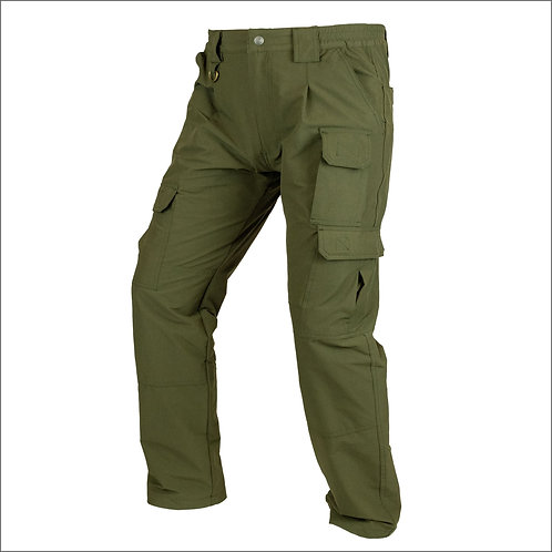 Viper Stretch Pants - Olive Green