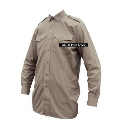 British Army Uniform No.2 Shirt - Sand - Grade 1