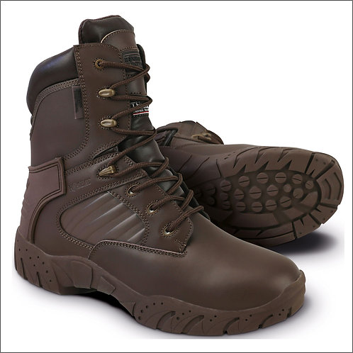 Kombat Tactical Pro Boot - Full Leather - MOD Brown