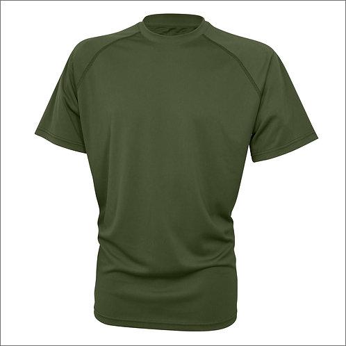 Viper Mesh-tech T-Shirt - Olive Green