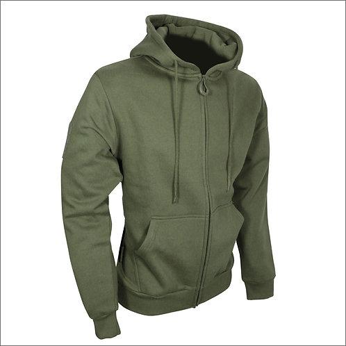 Viper Tactical Zipped Hoodie - Olive Green