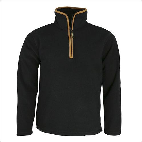 Huntsbury Country Fleece Pullover - Black