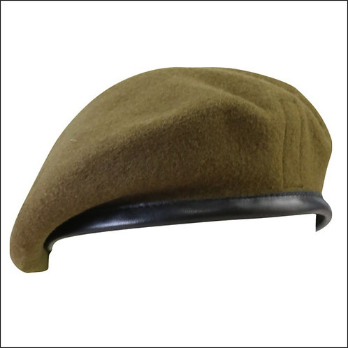 British Army-Style Beret - Khaki