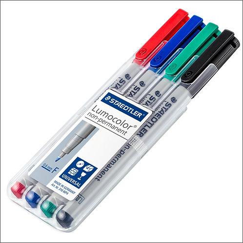 Staedtler Lumocolor Universal Non-Permanent Pen Set - Fine