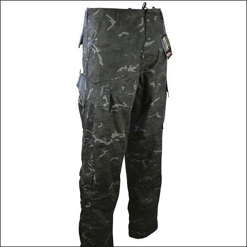 Kombat ACU-Style Assault Trousers - Black BTP