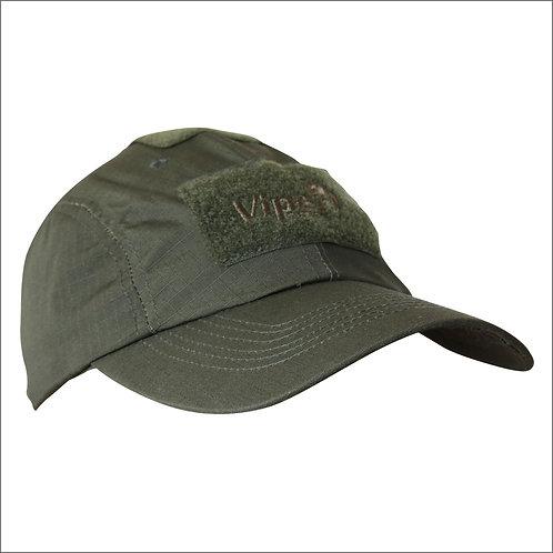 Viper Baseball Hat - Olive Green