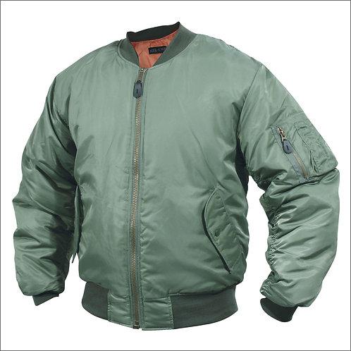 MA1 Type Flight Jacket - Green