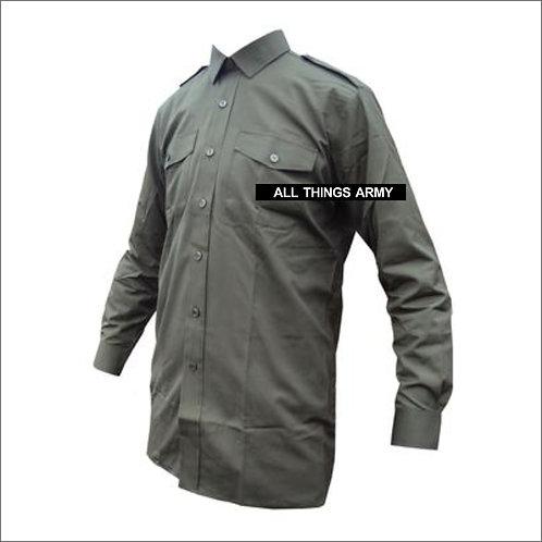 British Army General Service Shirt - Olive Green - Grade 1