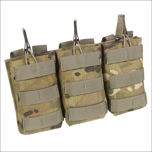 Marauder Open-Top Molle Triple Ammo Pouch - MTP