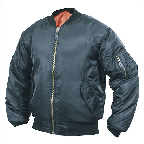 MA1 Type Flight Jacket - Black