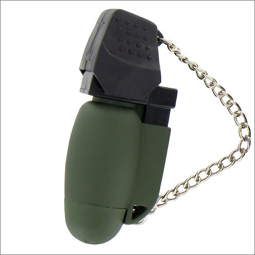 Highlander Turboflame Lighter - Olive Green