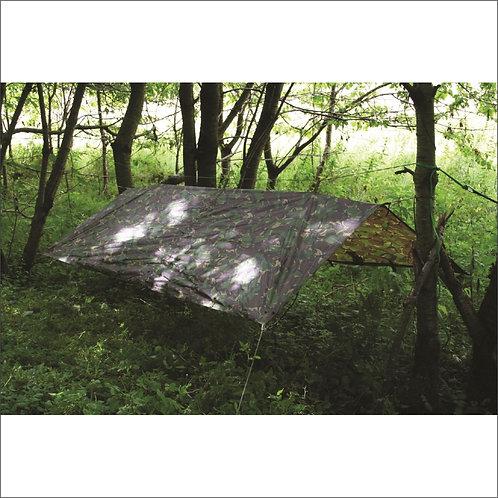 Highlander Army Basha/Tarp - Sleeping Shelter - HMTC