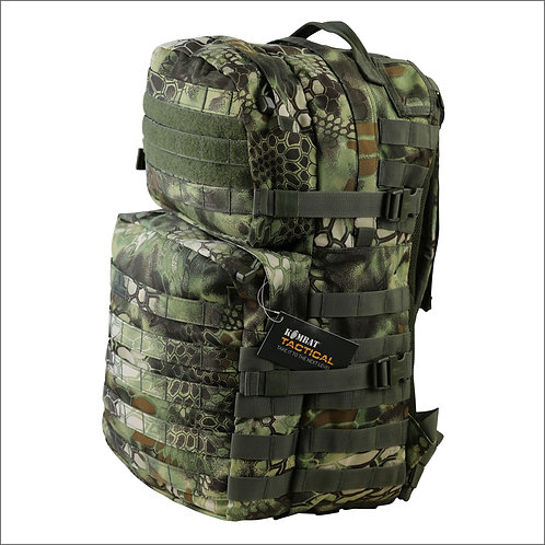 Kombat Tactical Molle Assault Pack - 40 Litres - Raptor Jungle
