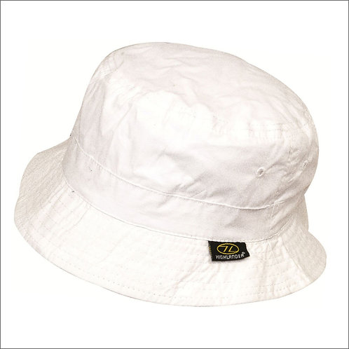 Highlander Premium Sun Hat - White
